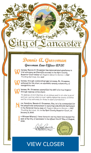 City of Lancaster Badge