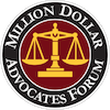 Million Dollars Advocate Forum Badge